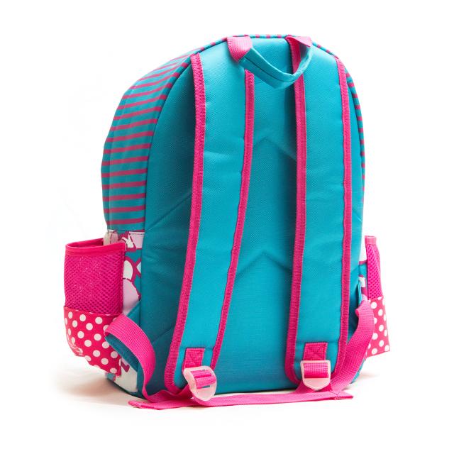 Home Backpacks Flofi Hearts And Dots School Backpack.    0b27f7ce8c3cd