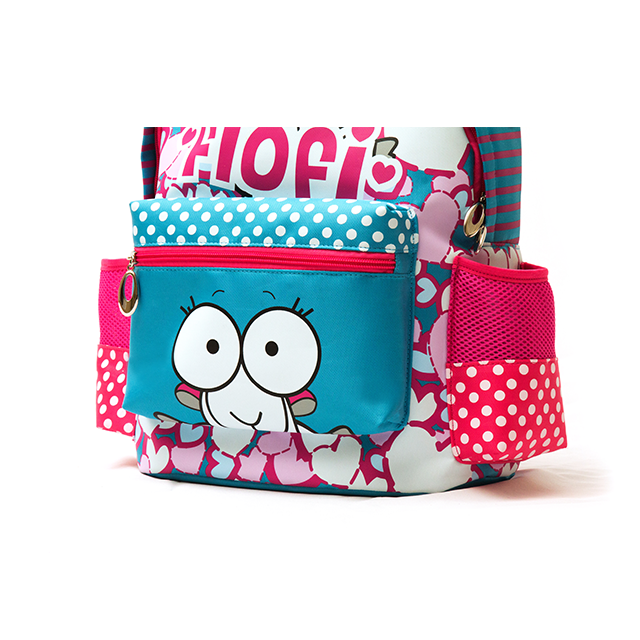 Home Backpacks Flofi Hearts And Dots School Backpack.    0cf50a3240772